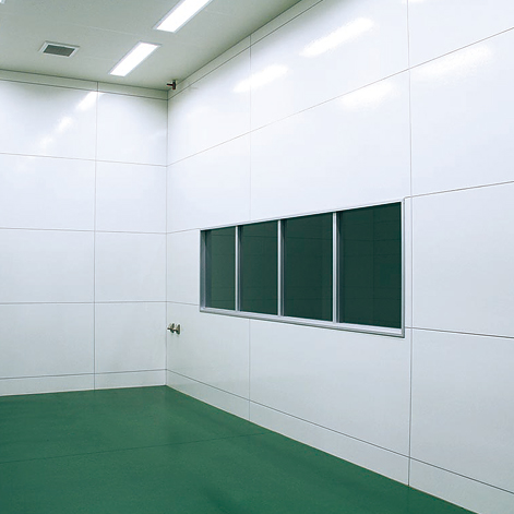 化学薬品工場の使用例