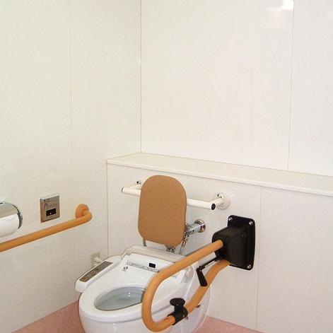 病院トイレの使用例