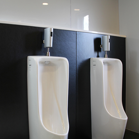店舗・施設トイレの使用例