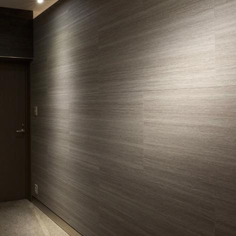 事務所棟内展示室(リノベーション)