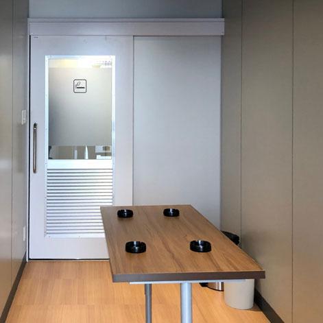 大和ハウス様、京都ビル 喫煙室