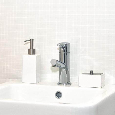 洗面台の使用例