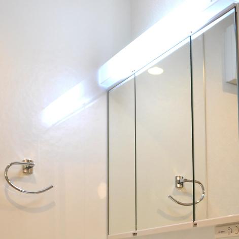 洗面所の使用例