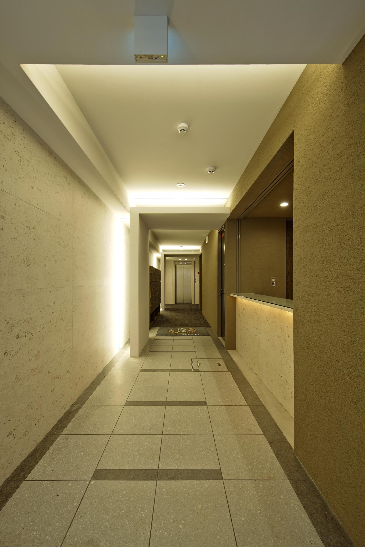 ホステルのエントランス
