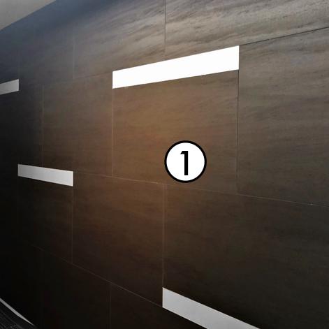オフィス 壁面パネル