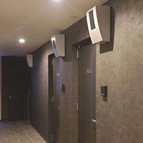 賃貸住宅 廊下