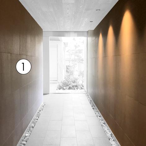 賃貸住宅 屋内共用廊下