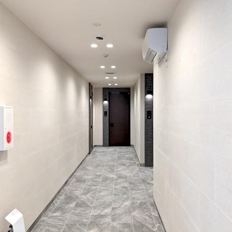 大手住宅メーカー 屋内共用廊下
